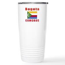 Bogota Comoros Designs Travel Coffee Mug