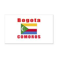 Bogota Comoros Designs Rectangle Car Magnet