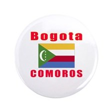 """Bogota Comoros Designs 3.5"""" Button"""