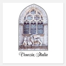 Customizable San Marco Cathedral Window Invitations