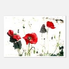 poppies Postcards (Package of 8)