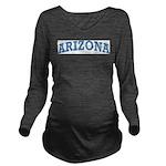 Arizona Long Sleeve Maternity T-Shirt
