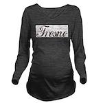 Vintage Fresno Long Sleeve Maternity T-Shirt
