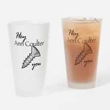 ann coulter_sc Drinking Glass