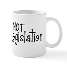 Copy of notlegis-bump-blk Mug
