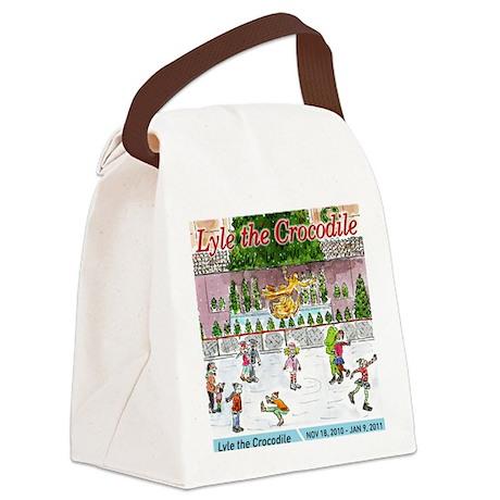 LylePosterLetterSize Canvas Lunch Bag