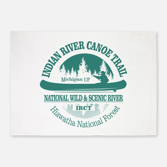Indian River CT 5'x7'Area Rug