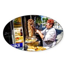 Turkish Kebab Man Decal