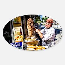 Turkish Kebab Man Decal