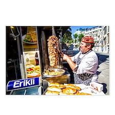 Turkish Kebab Man Postcards (Package of 8)