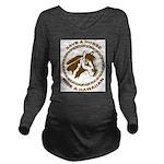 Hawaiian Long Sleeve Maternity T-Shirt