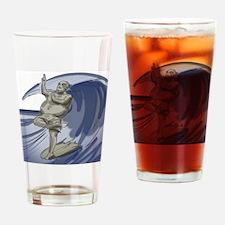 Buddhasurfs Drinking Glass
