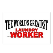 """The World's Greatest Laundry Worker"" Postcards (P"