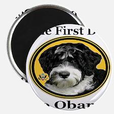 2-The_First_Dog_Bo_Obama_georgiafontblack Magnet