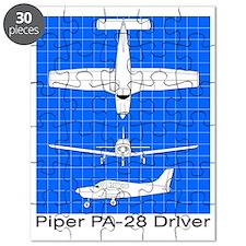 Piper PA-28 Driver Puzzle