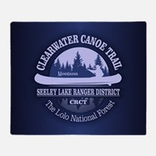 Clearwater CT Throw Blanket