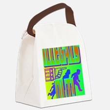 ILLEGALS OUT!(large poster) Canvas Lunch Bag