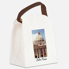 Saint Peter's Basilica in Rome Italy Canvas Lunch