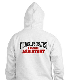 """The World's Greatest Legal Assistant"" Hoodie"
