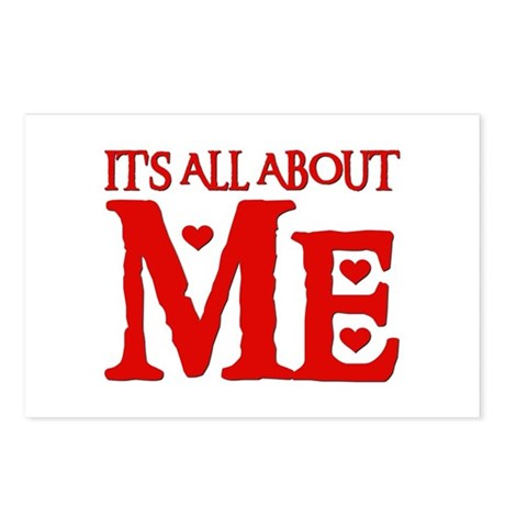IT'S ALL ABOUT ME Postcards (Package of 8)