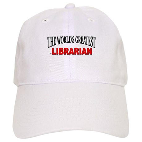 """""""The World's Greatest Librarian"""" Cap"""