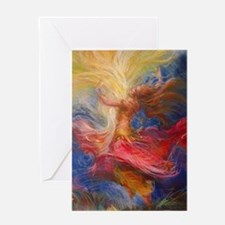 dance of light Greeting Card