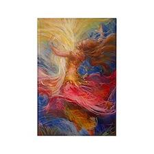 dance of light Rectangle Magnet