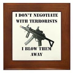 Negotiate Framed Tile