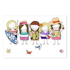 Girls Weekend Postcards (Package of 8)