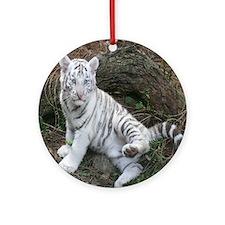 tiger2 Round Ornament