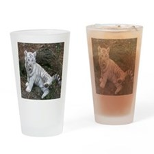 tiger2 Drinking Glass