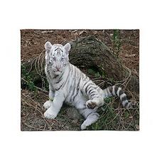 tiger2 Throw Blanket