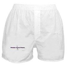 Powder to the People Boxer Shorts