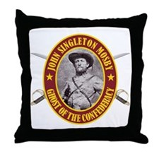 Mosby (no flag) Throw Pillow