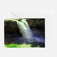 Snoqualmie Falls Washington State11. Greeting Card