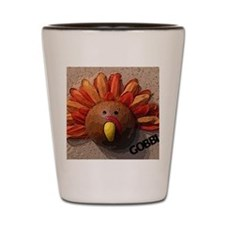Turkey Gobble Sm Shot Glass