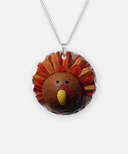 Turkey Gobble Sm Necklace