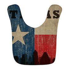 Vintage Texas Skyline Bib