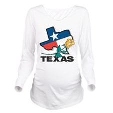 Texas Long Sleeve Maternity T-Shirt