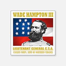 "Wade Hampton ANV Square Sticker 3"" x 3"""