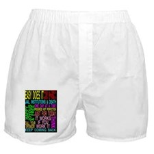 12 STEPSLOGANS 2 Boxer Shorts