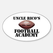 Uncle Rico Oval Decal