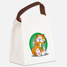 Bipolar-Disorder-Cat-bllk Canvas Lunch Bag