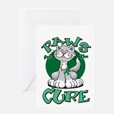 Paws-for-the-Cure-Cat-Bipolar-Disord Greeting Card