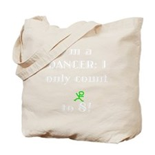 Count To 8 White Tote Bag