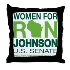 Women For Ron_front2 Throw Pillow