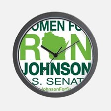 Women For Ron_front2 Wall Clock