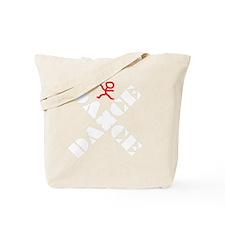 Dance Marks The Spot White Tote Bag