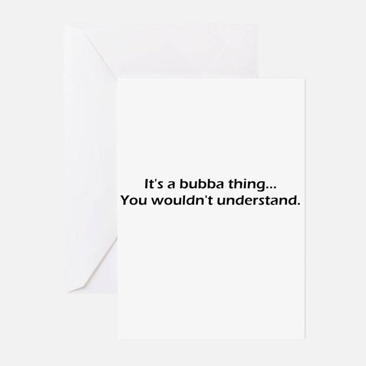 Cute Bubba Greeting Cards (Pk of 10)