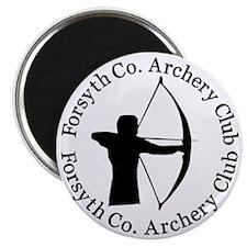 Archery_Shirt_High_Res_2009_bw Magnet